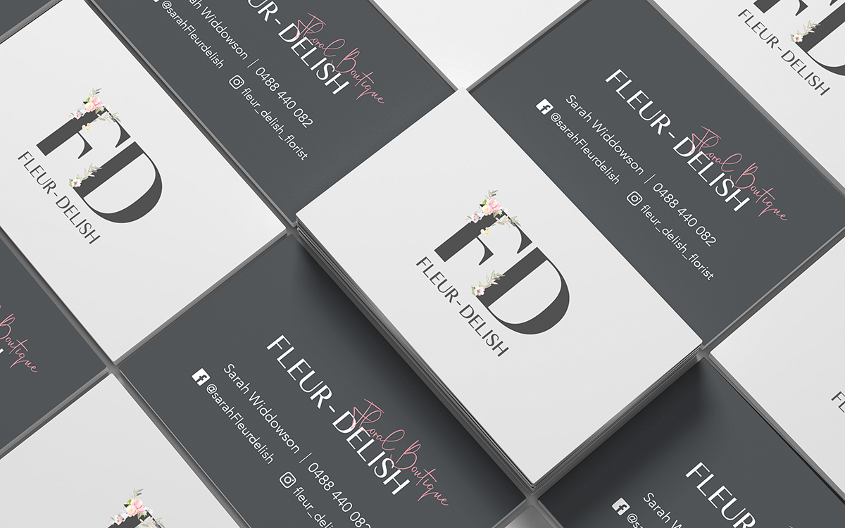 Fleur Delish Business Cards